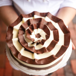Signature Marble Mousse Ribbon Cake