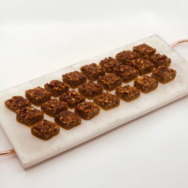 Pecan Diamond cookies