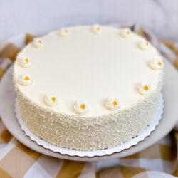 Apricot Buttercream Cake