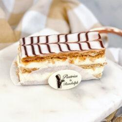 Individual Napoleon Cake Slice