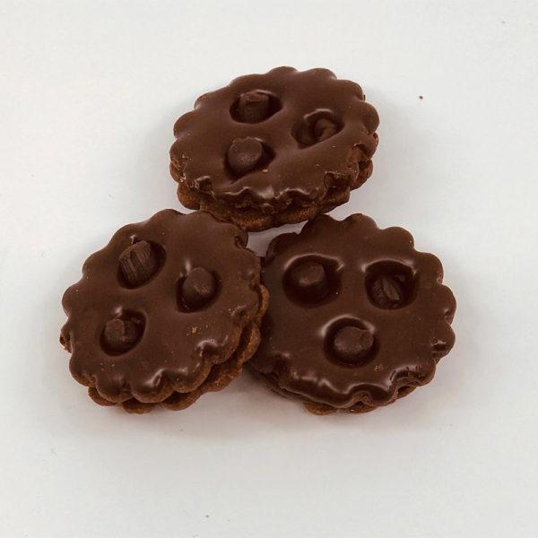 Chocolate monkeyface cookies