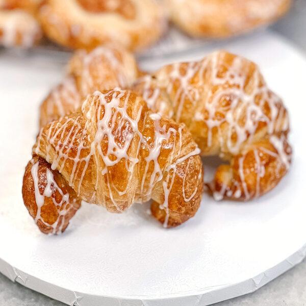 mini croissant cinnamon