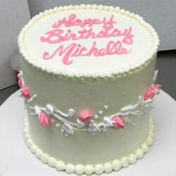Rosebud Trellis Cake