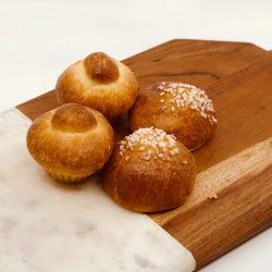 Brioche - Plain and Sugar