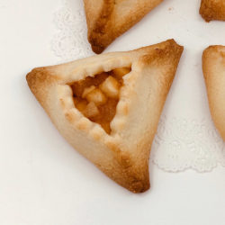 Apple Hamantaschen Cookie