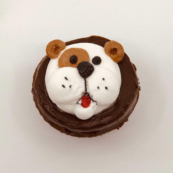 Animated Dog cupcake