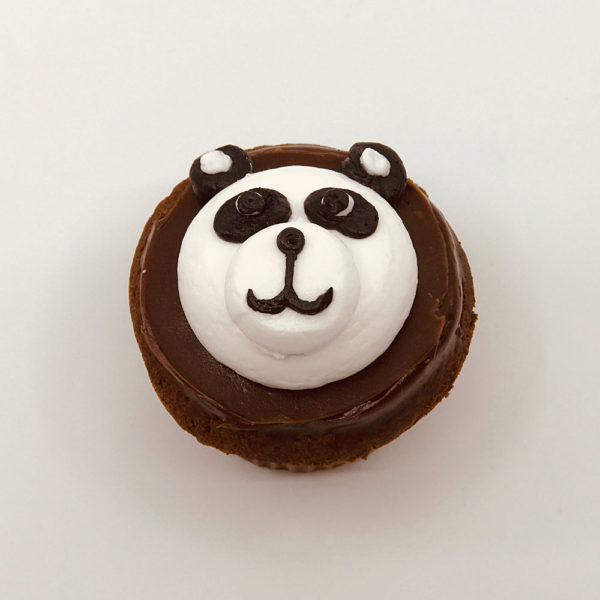 Animated Panda cupcake