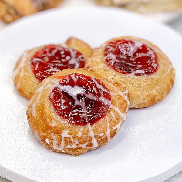 mini danish raspberry