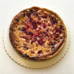 Baked Apple Cranberry Tart