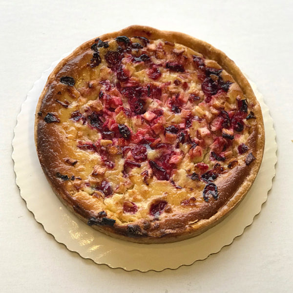 Baked Apple Cranberry Tart