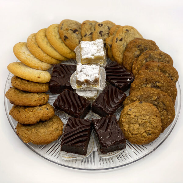 Small bar and cookie platter