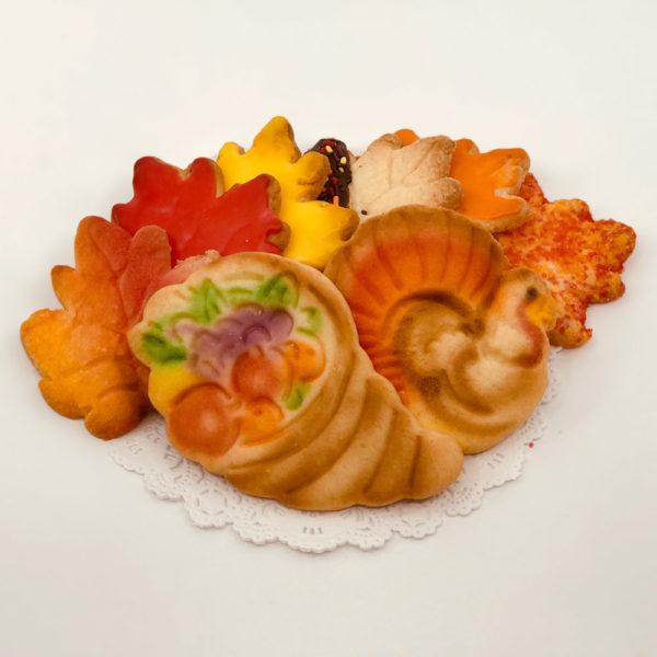 Thanksgiving Butter Cookies