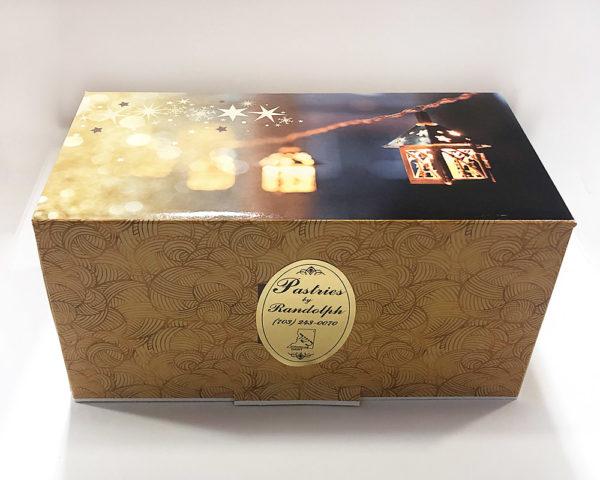 Yule log gift box