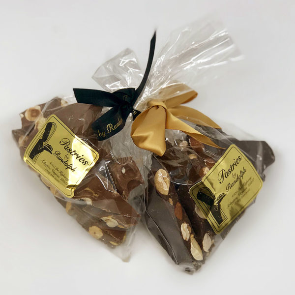 Almond Bark in dark and milk chocolate