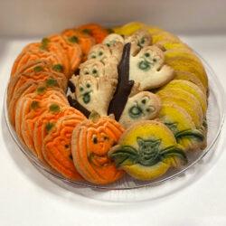 1lb Halloween Cookie Platter