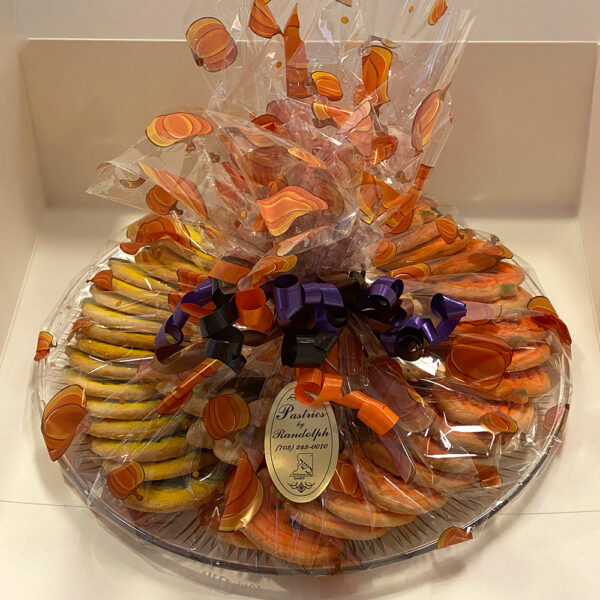 Wrapped 2lb Halloween Cookie Platter