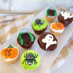 Halloween Critter Cupcakes
