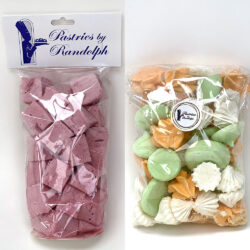 Combination flavored marshmallows and meringue