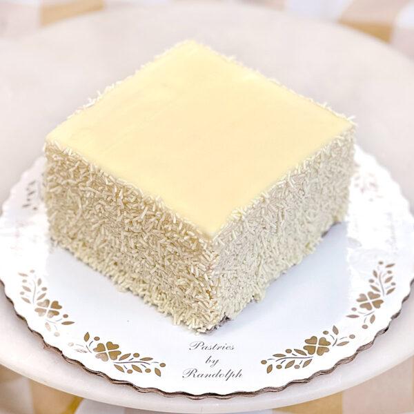 "4"" Raspberry buttercream cake"