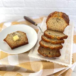 Banana Loaf slices